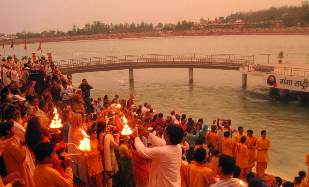 Ganga Aratik in Rishikesh
